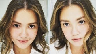 Angelica Panganiban now 32 revises her beauty regimen
