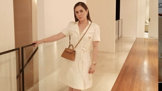 Jinkee Pacquiao's Valentino dress at Pacman's fight has a staggering price