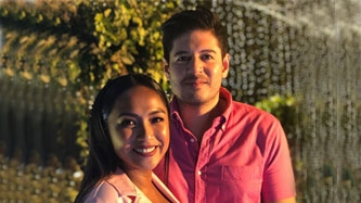 Rochelle Pangilinan and Arthur Solinap host their own baby shower