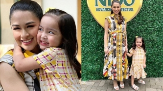 Zia Dantes promises to buy her mom Marian Rivera a pair of shoes