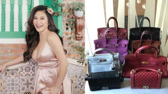 Rufa Mae Quinto gives sneak peek of her luxury bag collection
