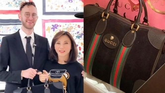 Gucci gifts Dra. Vicki Belo, celebrity personal shopper Aimee Hashim with exclusive bag