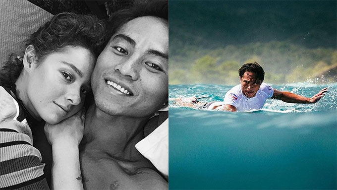 Meet Philmar Alipayo, Andi's surfing champ boyfriend