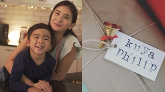 Rica Peralejo recalls how she revealed to son Philip that he was going to be a kuya