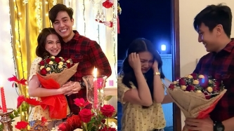 Barbie Forteza overwhelmed by Jak Roberto's Valentine surprise