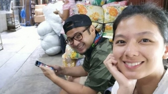Jennica Garcia and Alwyn Uytingco celebrate 9th anniversary in Divisoria