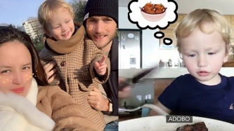 This video of Georgina Wilson's son Archie asking for adobo amuses netizens