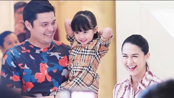 Marian gets surprise baby shower from Dingdong and family