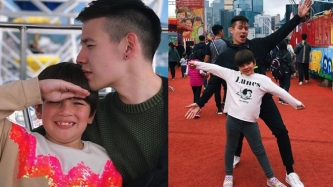 Jake Ejercito, Ellie Eigenmann have father-daughter bonding in Hong Kong