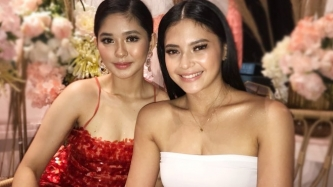 Kapamilya Loisa Andalio and Kapuso Bianca Umali glad to find a friend in each other