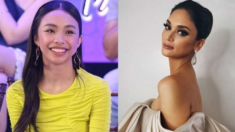 Maymay Entrata thanks Pia Wurtzbach for coaching her at Miss Universe PH fashion show