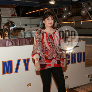 Annabelle Rama celebrates 56th birthday aboard three yachts