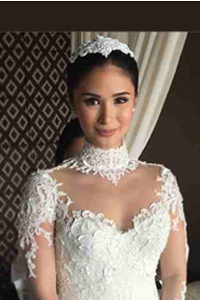 First Look Heart Evangelista In Her Ezra Santos Wedding